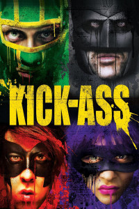 "Poster for the movie ""Kick-Ass"""