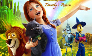 "Poster for the movie ""Legends of Oz: Dorothy's Return"""
