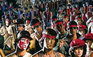 "Poster for the movie ""The Warriors"""