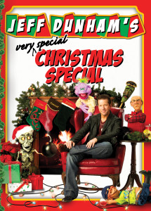 "Poster for the movie ""Jeff Dunham: Jeff Dunham's Very Special Christmas Special"""