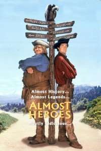 "Poster for the movie ""Almost Heroes"""