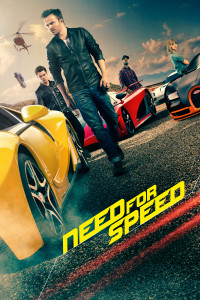 "Poster for the movie ""Need for Speed"""