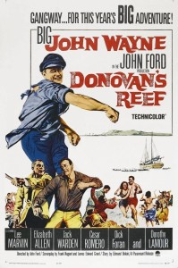 """Poster for the movie """"Donovan's Reef"""""""