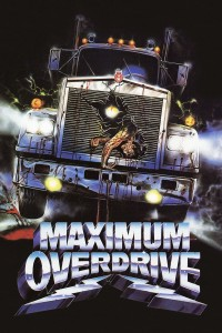 "Poster for the movie ""Maximum Overdrive"""