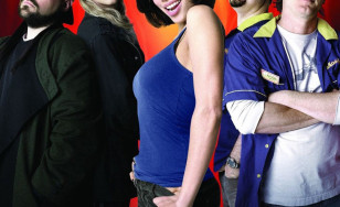 "Poster for the movie ""Clerks II"""