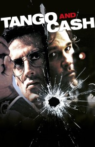 "Poster for the movie ""Tango & Cash"""