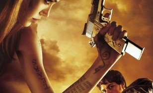"Poster for the movie ""Wanted"""