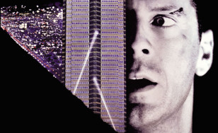 "Poster for the movie ""Die Hard"""