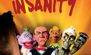 "Poster for the movie ""Jeff Dunham: Spark of Insanity"""