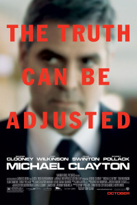 "Poster for the movie ""Michael Clayton"""