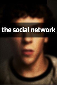 "Poster for the movie ""The Social Network"""