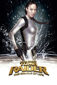 "Poster for the movie ""Lara Croft Tomb Raider: The Cradle of Life"""