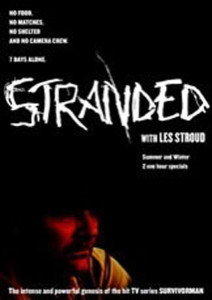 "Poster for the movie ""Stranded with Survivorman"""