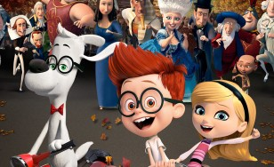 "Poster for the movie ""Mr. Peabody & Sherman"""