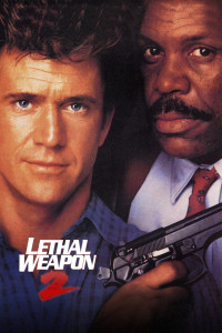 "Poster for the movie ""Lethal Weapon 2"""