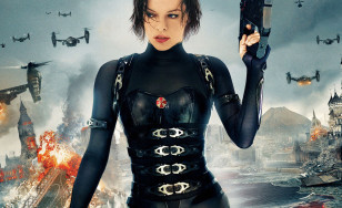 "Poster for the movie ""Resident Evil: Retribution"""