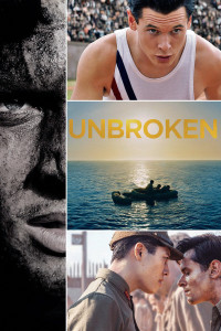 "Poster for the movie ""Unbroken"""