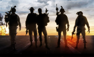 "Poster for the movie ""Act of Valor"""