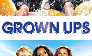 "Poster for the movie ""Grown Ups"""
