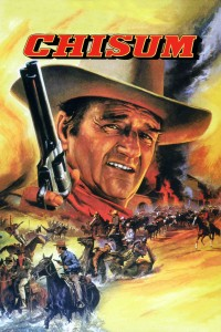 "Poster for the movie ""Chisum"""