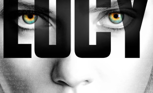 "Poster for the movie ""Lucy"""