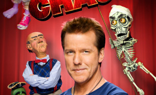 "Poster for the movie ""Jeff Dunham: Controlled Chaos"""