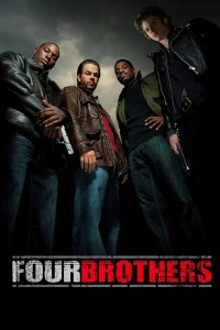 "Poster for the movie ""Four Brothers"""