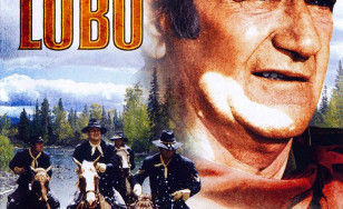 "Poster for the movie ""Rio Lobo"""