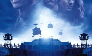"Poster for the movie ""The Last Castle"""