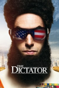 "Poster for the movie ""The Dictator"""