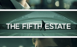 "Poster for the movie ""The Fifth Estate"""