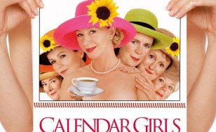 "Poster for the movie ""Calendar Girls"""