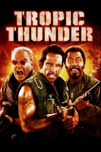 "Poster for the movie ""Tropic Thunder"""