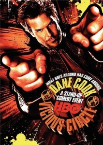 "Poster for the movie ""Dane Cook: Vicious Circle"""