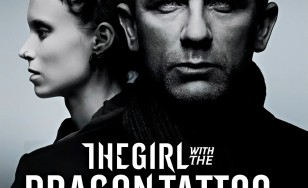 "Poster for the movie ""The Girl with the Dragon Tattoo"""