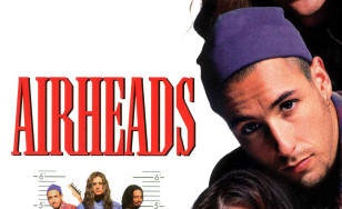 "Poster for the movie ""Airheads"""