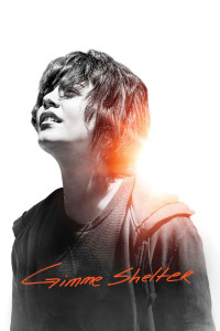 "Poster for the movie ""Gimme Shelter"""