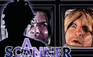 "Poster for the movie ""A Scanner Darkly"""