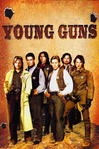 "Poster for the movie ""Young Guns"""