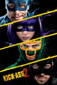 "Poster for the movie ""Kick-Ass 2"""