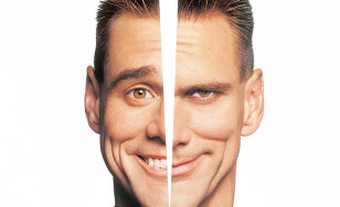"Poster for the movie ""Me, Myself & Irene"""