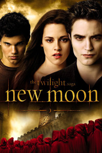 "Poster for the movie ""The Twilight Saga: New Moon"""
