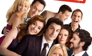 "Poster for the movie ""American Reunion"""