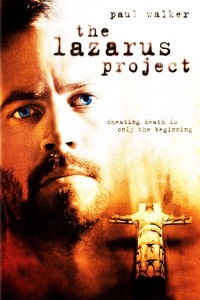 "Poster for the movie ""The Lazarus Project"""