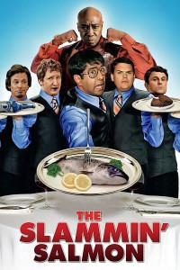 "Poster for the movie ""The Slammin' Salmon"""