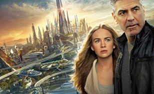 "Poster for the movie ""Tomorrowland"""