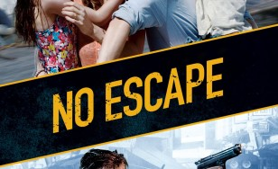 "Poster for the movie ""No Escape"""
