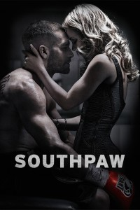 "Poster for the movie ""Southpaw"""