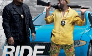 "Poster for the movie ""Ride Along 2"""