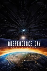 "Poster for the movie ""Independence Day: Resurgence"""